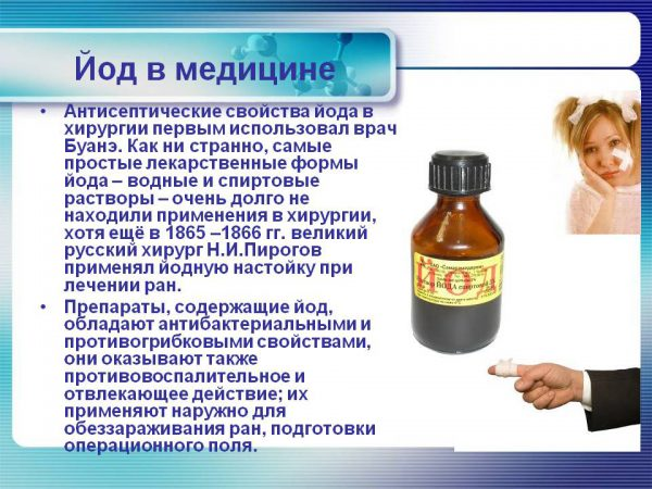 Лечение бородавок йодом