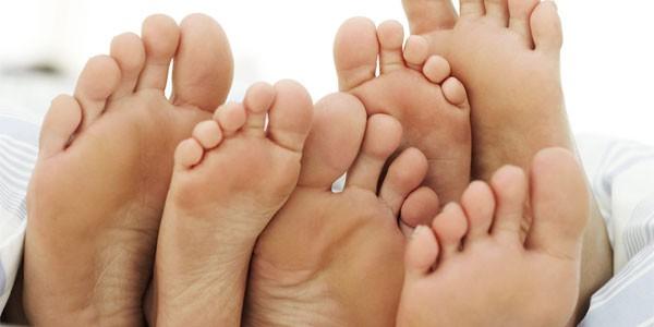 Бородавки на ступнях